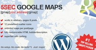 Thumbnail 5SEC GOOGLE MAPS WORDPRESS PLUGIN 1.42